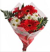 Mevsim çiçeklerinden görsel buket  Sinop uluslararası çiçek gönderme