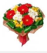 1 demet karışık buket  Sinop yurtiçi ve yurtdışı çiçek siparişi