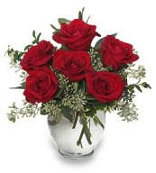 Vazo içerisinde 5 adet kırmızı gül  Sinop online çiçek gönderme sipariş