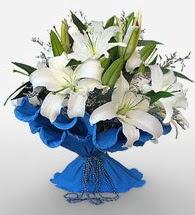 4 dal kazablanka çiçeğinden buket  Sinop çiçek online çiçek siparişi