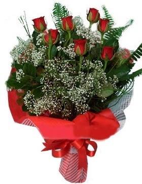7 kırmızı gül buketi  Sinop çiçek yolla , çiçek gönder , çiçekçi