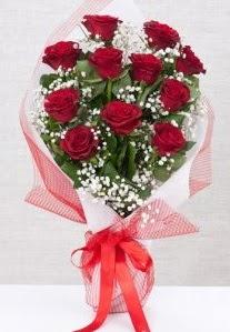 11 kırmızı gülden buket çiçeği  Sinop kaliteli taze ve ucuz çiçekler