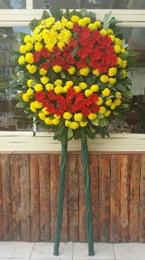 Cenaze çelengi çiçek modeli  Sinop İnternetten çiçek siparişi