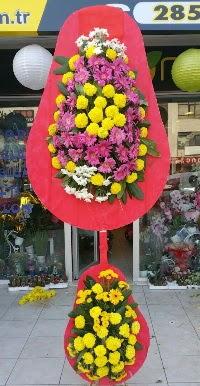 Çift katlı düğün nikah açılış çiçek modeli  Sinop hediye sevgilime hediye çiçek