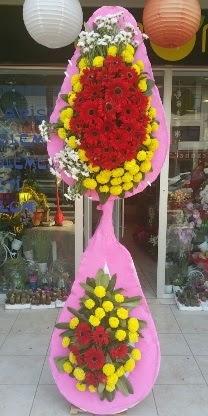 Çift katlı düğün nikah açılış çiçek modeli  Sinop uluslararası çiçek gönderme