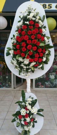 2 katlı nikah çiçeği düğün çiçeği  Sinop çiçekçi mağazası