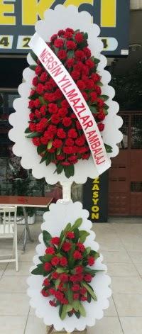 Çift katlı düğün nikah çiçeği modeli  Sinop çiçek siparişi vermek