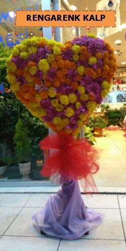 Ankara mevsim çiçeklerinden kalp perförje  Sinop çiçek siparişi sitesi