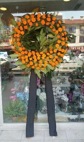 Cenaze çiçeği cenaze çelengi çiçek modeli  Sinop çiçekçi mağazası