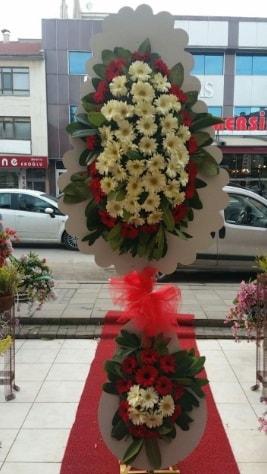 Çift katlı düğün açılış çiçeği  Sinop internetten çiçek satışı