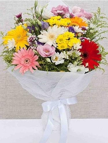 Karışık Mevsim Buketleri  Sinop internetten çiçek siparişi