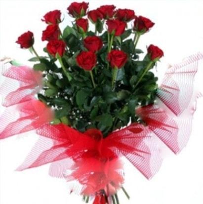 15 adet kırmızı gül buketi  Sinop çiçek online çiçek siparişi