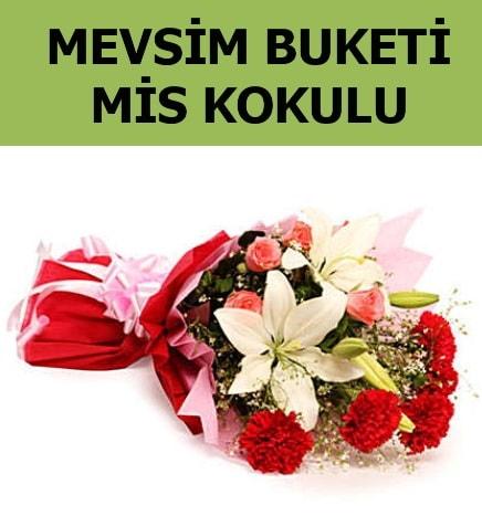 Karışık mevsim buketi mis kokulu bahar  Sinop internetten çiçek siparişi