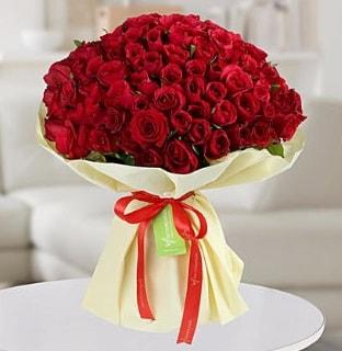 101 adet kırmızı gül buketi koca demet  Sinop 14 şubat sevgililer günü çiçek