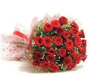 27 Adet kırmızı gül buketi  Sinop internetten çiçek siparişi
