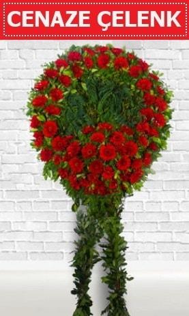 Kırmızı Çelenk Cenaze çiçeği  Sinop çiçek , çiçekçi , çiçekçilik