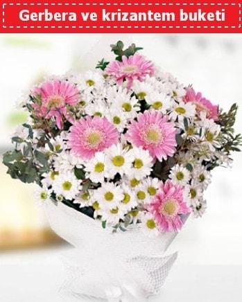 Papatya ve Gerbera Buketi  Sinop çiçekçiler