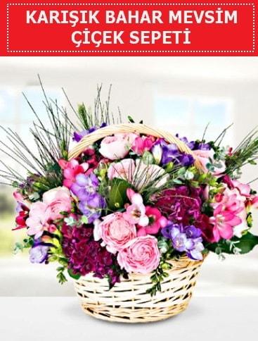 Karışık mevsim bahar çiçekleri  Sinop internetten çiçek siparişi