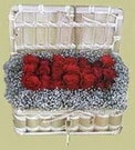 Sinop çiçek servisi , çiçekçi adresleri  Sandikta 11 adet güller - sevdiklerinize en ideal seçim